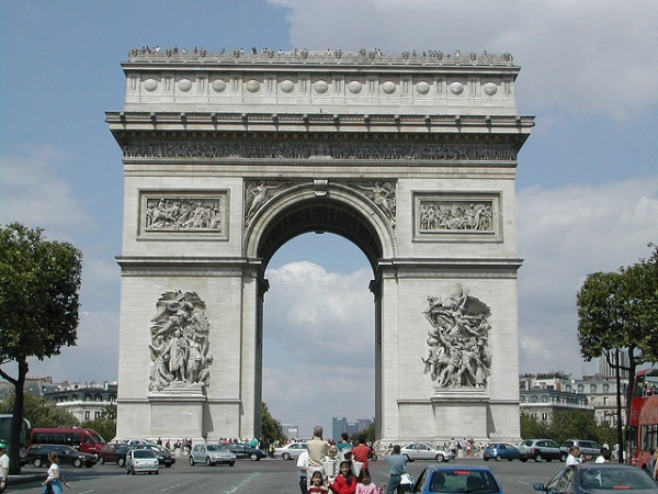 Arc de triomphe accessible