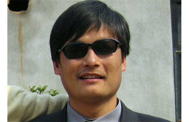 Le dissident chinois aveugle Chen Guangcheng