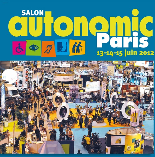 Vivre fm en direct du salon autonomic mercredi 13 et jeudi for Salon autonomic paris