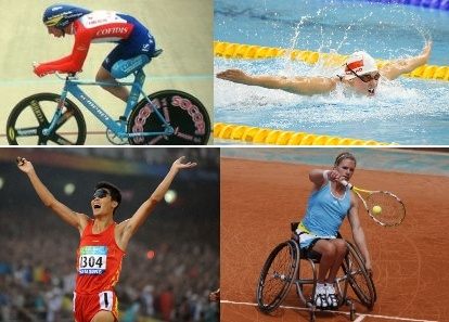 4 sports paralympiques