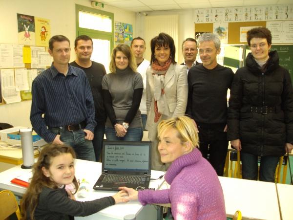 Démonstration du projet Eyeschool à l'école Saint-Isidore à Nice.