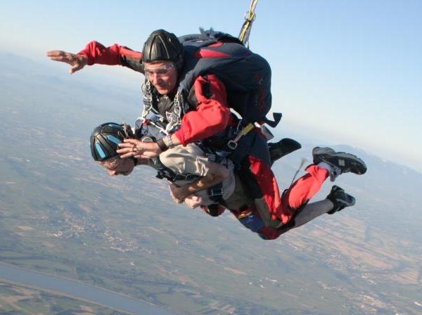 parachutisme handicap