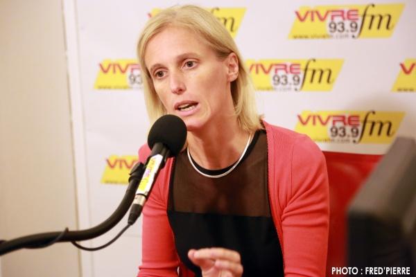 Ségolène Neuville au micro de Vivre FM, mardi 13 mai 2014