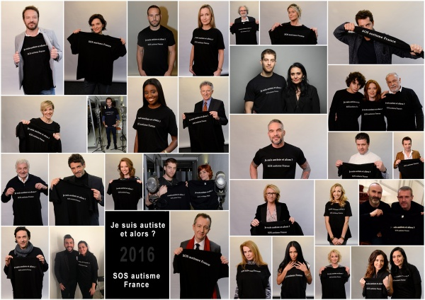 Campagne de sensibilisation SOS autisme 2016