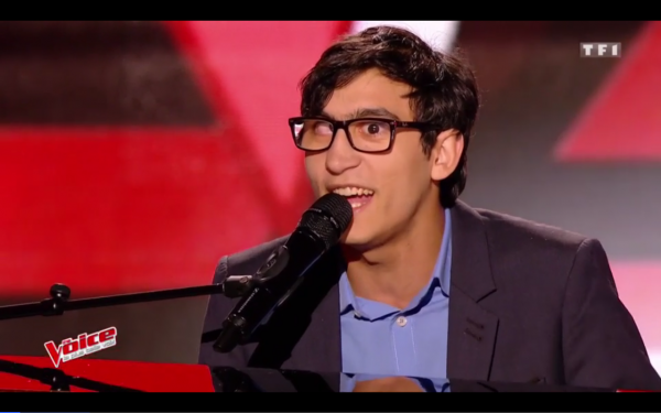 Vincent Vinel a bouleversé le jury de The Voice
