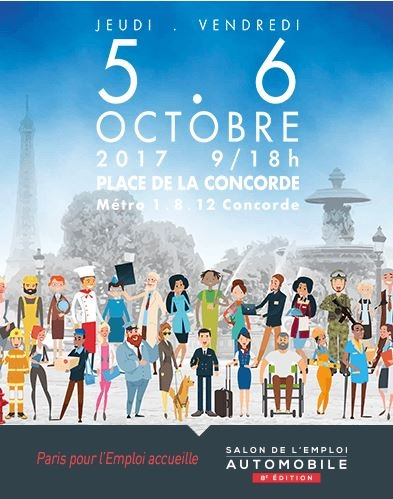 Vivre fm for Salon paris pour l emploi 2017